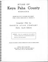 Title Page, Keya Paha County 1964
